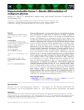 Báo cáo khoa học: Hypoxia-inducible factor-1a blocks differentiation of malignant gliomas