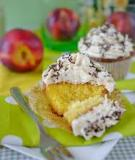 Cupcake phô mai trái cây ngon tuyệt