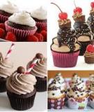 Hướng dẫn cách trang trí kem cho bánh cupcake xinh đẹp