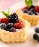 Cách cán bột ngàn lớp (Puff Pastries)
