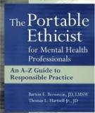 Sách: The Portable Ethicist for Mental Health Professionals A Complete Guide to Responsible Practice