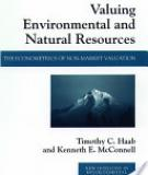 Valuing Environmental and Natural Resources