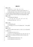 Đề thi thử đại học môn toán năm 2013 - THPT Lý Thường Kiệt - Hải Phòng - Đề số 77