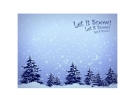 LET IT SNOW by Po Lena