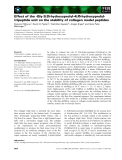 Báo cáo khoa học: Effect of the -Gly-3(S)-hydroxyprolyl-4(R)-hydroxyprolyltripeptide unit on the stability of collagen model peptides
