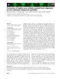 Báo cáo khoa học: Formation of highly toxic soluble amyloid beta oligomers by the molecular chaperone prefoldin