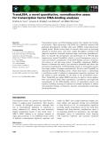 Báo cáo khoa học: TransLISA, a novel quantitative, nonradioactive assay for transcription factor DNA-binding analyses