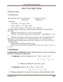 Chuyên đề Hóa: Phản ứng nhiệt nhôm