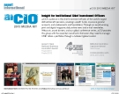aiCIO 2013 MEDIA KIT - Insight for Institutional Chief Investment Officers