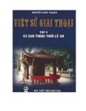 Việt sử giai thoại - Tập 5: 62 giai thoại thời Lê Sơ - Nguyễn Khắc Thuần