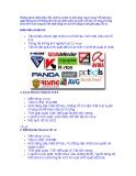 So sánh các phần mềm diệt virus