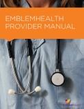 EMBLEMHEALTH  PROVIDER MANUAL