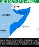 EASTERN AND SOUTHERN AFRICA: Somalia