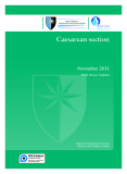 Caesarean section 2011: NICE CLINICAL GUIDELINE