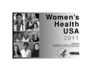 Women's Health USA 2011 Health Resources and Services Administration