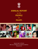 ANNUAL REPORT to the PEOPLE on  Health