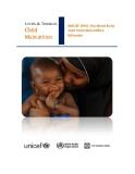 UNICEF-WHO-The World Bank Joint Child Malnutrition Estimates