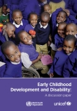 Early Childhood  Development and Disability: A discussion paper