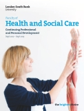 FACILTY OF HEALTH AND SOCIAL CARE CONTINUING PROFESSIONAL AND PERSONAL DEVELOPMENT 2012 - 2013