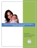 Toolkit for Promoting Maternal and Child Oral Health in Colorado Communities