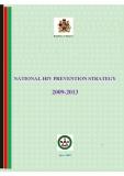 NATIONAL HIV PREVENTION STRATEGY 2009-2013