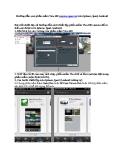 Hướng dẫn xem phần mềm View100 camera quan sát trên Iphone, Ipad, Android