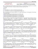 Chuyên đề  GIAO THOA HAI NGUỒN LỆCH PHA