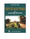 69 giai thoại thế kỉ XVIII - Việt sử giai thoại