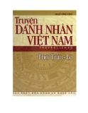 Lịch sử Việt Nam - Truyện Danh nhân thời Trần Lê
