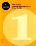 SEER Program Self Instructional Manual for Cancer Registrars
