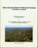 The vegetation types of Texas, including cropland
