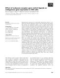 Báo cáo khoa học: Effect of ecdysone receptor gene switch ligands on endogenous gene expression in 293 cells