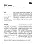 Báo cáo khoa học: Protein lipidation