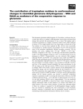 Báo cáo khoa học: The contribution of tryptophan residues to conformational changes in clostridial glutamate dehydrogenase ) W64 and W449 as mediators of the cooperative response to glutamate
