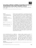 Báo cáo khoa học: Unraveling multistate unfolding of pig kidney fructose-1,6bisphosphatase using single tryptophan mutants