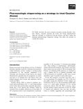 Báo cáo khoa học: Pharmacologic chaperoning as a strategy to treat Gaucher disease