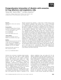 Báo cáo khoa học: Comprehensive interaction of dicalcin with annexins in frog olfactory and respiratory cilia