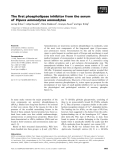 Báo cáo khoa học: The first phospholipase inhibitor from the serum of Vipera ammodytes ammodytes
