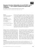 Báo cáo khoa học: Structure–function relationship of novel X4 HIV-1 entry inhibitors – L- and D-arginine peptide-aminoglycoside conjugates