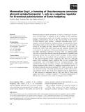 Báo cáo khoa học: Mammalian Gup1, a homolog of Saccharomyces cerevisiae glycerol uptake/transporter 1, acts as a negative regulator for N-terminal palmitoylation of Sonic hedgehog