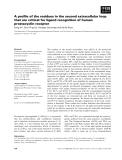Báo cáo khoa học: A profile of the residues in the second extracellular loop that are critical for ligand recognition of human prostacyclin receptor