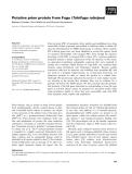 Báo cáo khoa học: Putative prion protein from Fugu (Takifugu rubripes)