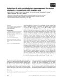 Báo cáo khoa học: Induction of actin cytoskeleton rearrangement by methyl okadaate – comparison with okadaic acid