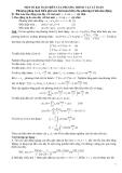 Một số bài toán biên của phương trình vật lý toán