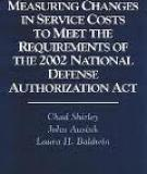Measuring Changes in Service Costs to Meet the Requirements of the 2002