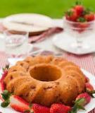 Bánh dâu tây chua chua ngọt ngọt món ngon từ nước Ý