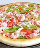 Pizza tôm chiên tẩm bột ngon đến mê mệt