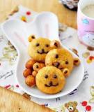 Bánh gấu cute không cần lò nướng