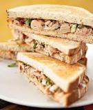 Sandwich cuộn dinh dưỡng tràn đầy cho ngày mới