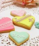 Cookies trái tim cực xinh